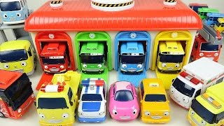 Download Tayo(타요) Tayo the little bus and Friends car toys 꼬마버스 타요 친구들 тайо Игрушки Video