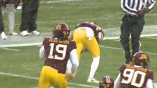 Download Highlights: Gopher Football Defense vs Purdue Video