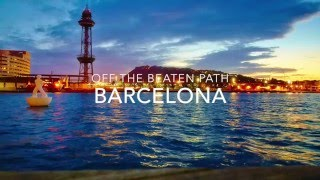 Download Barcelona Off The Beaten Path - Travel Tips Video