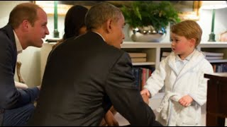 Download Obama Meets Prince George for First Time Video