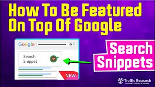 Download How To Be Featured On Top Of Google - Search Snippet Video