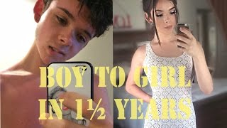 Download Male to Female Transition | 1.5 Year Update | SamanthaLux Video