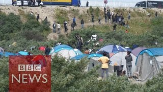 Download Calais Migrants: What's it like in the ″Jungle″? (360 video) BBC News Video