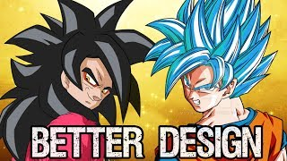 Download The Better Design: Super Saiyan 4 or Super Saiyan God? Video