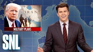 Download Weekend Update: Trump's Iran Conflict Confusion - SNL Video