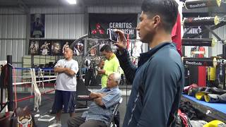 Download Banda plays for Mikey Garcia at the gym - EsNews Boxing Video