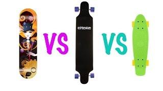Download What to choose: Skateboard, Longboard or Cruiser Video