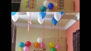 Download Birthday decoration ideas at home Video
