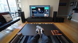 Download Ultimate 4K TV Setup - Tech Living Room Tour Video