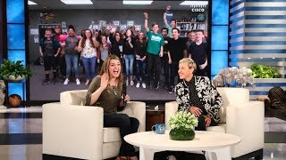 Download Ellen Surprises a Deserving Orchestra Teacher Video