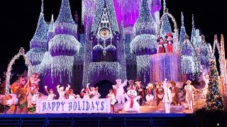 Download 2015 Celebrate The Season Show at Mickey's Very Merry Christmas Party - Jolly Holidays, Disney World Video