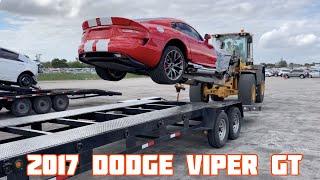 Download Rebuilding a Wrecked 2017 Dodge Viper GT Video