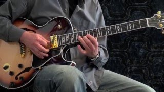 Download Autumn leaves - Achim Kohl - Jazz Guitar Improvisation with chord solo and tabs Video