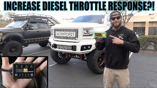 Download DOES A PEDAL COMMANDER WORK ON A DIESEL?! Video