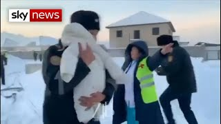 Download Kazakhstan plane crash: baby pulled from wreckage Video
