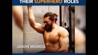 Download Actors Working Out for Superhero Roles Video