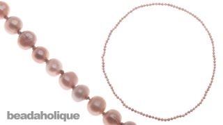 Download How to Make a Knotted Pearl Necklace without a Clasp Video