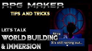 Download RPG Maker Let's Talk: World Building & Immersion! Video