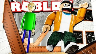 Download *NEW* BALDI'S SCHOOLHOUSE OBBY ESCAPE! (Deadly Rulers EVERYWHERE!) Video