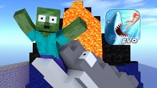 Download Monster School : Hungry Shark Evolution Challenge - Minecraft Animation Video