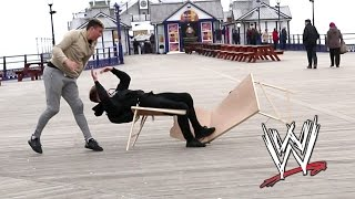Download WWE MOVES IN PUBLIC | Tables Edition 😂 Video