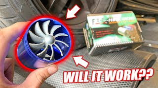 Download Dyno Testing an EBAY ″Turbo Power Launcher″ Intake Pipe! This Thing is Hilarious... Video