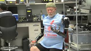 Download Amputee Makes History with APL's Modular Prosthetic Limb Video