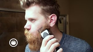 Download EPIC beard trim with Clippers | Eric Bandholz Video
