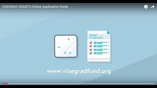 Download HOW TO APPLY: Visegrad Grants Application Guide Video