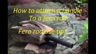 Download FERO ROD HANDLE ASSEMBLY AND FERO ROD USE TIPS Video