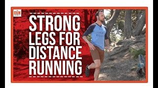 Download Strength Training for Distance Runners | 3 Exercises for Strong Legs Video