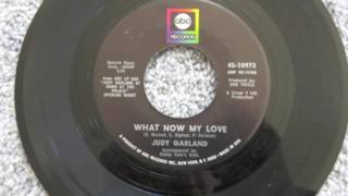 Download JUDY GARLAND Her Final Single 1967 ABC Records 2016 Remix WHAT NOW MY LOVE/I Feel A Song Coming On Video
