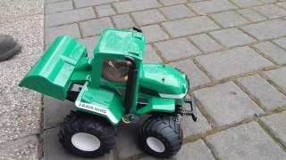 Download Tamiya Farm King Wheelie first test Video