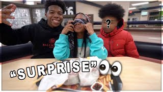 Download SURPRISED MY SISTER WITH A DATE WITH HER CRUSH! *He Flirted With Her In Front Of Me* Video