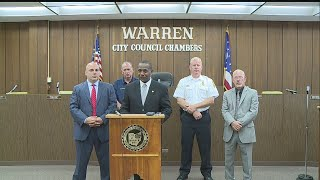 Download Press conference on shooting near Trumbull Homes in Warren Video