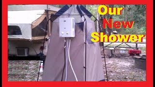 Download How To Shower Like A KING As A Nomad...Marey Tankless Water Heater/Shower Video