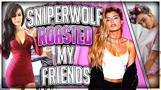 Download SSSniperwolf Roasted My Friends (FT. Alissa Violet & Sommer Ray) Video
