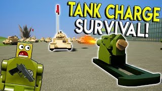 Download LEGO TANK CHARGE SURVIVAL CHALLENGE! - Brick Rigs Gameplay Challenge - Lego Military Toy Video