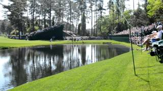 Download Masters 2012 Martin Kaymer Hole In One on 16 Skips It Across the Water Video