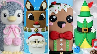 Download AMAZING HOLIDAY CAKE COMPILATION!   Christmas Cakes Video