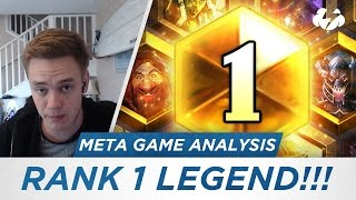 Download RANK 1 LEGEND! (Meta Game Analysis) [Hearthstone] Video