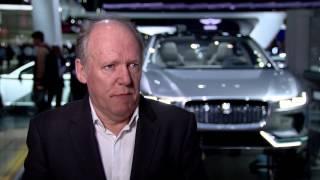 Download Jaguar Land Rover at the LA Auto Show - Interview Ian Callum, Director of Design   AutoMotoTV Video