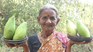 Download Andhra special raw mango and chana dal curry by Grandma || myna street food || food info Video