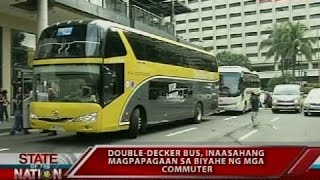 Download SONA: Double decker bus na babagtas sa EDSA, inilunsad na Video