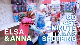 Download Frozen Christmas - Anna & Elsa Go Xmas Shopping at Target | Sketch Comedy | Parody Video