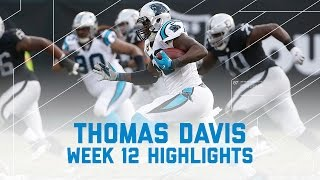 Download Thomas Davis' Big Day on Defense! | Panthers vs. Raiders | NFL Week 12 Player Highlights Video