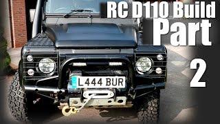 Download [PART 2] CUSTOM Scale RC Land Rover Defender 110 Build - MrRcFanatik Video