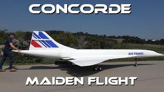 Download GIGANTIC 10 METER LARGE RC CONCORDE - MAIDEN FLIGHT Video