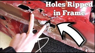 Download Body Shop Further RUINS Wrecked Mustang! Owner is SUING! Video