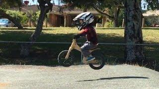 Download 3 year old balance bike video kids early rider lite alley runner BMX strider Video